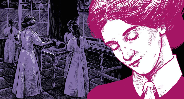 Dr Isabel 'Ida' Deane Mitchell illustration