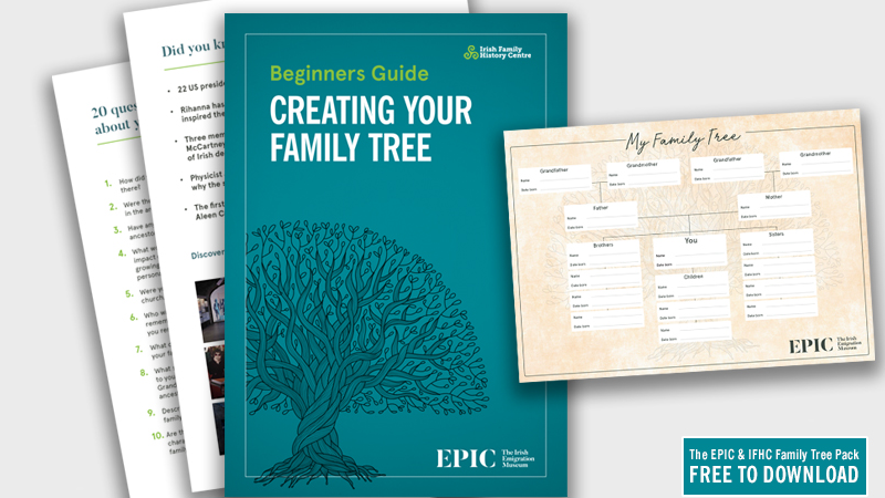 A guide on how to start your genealogy research to your Irish ancestry