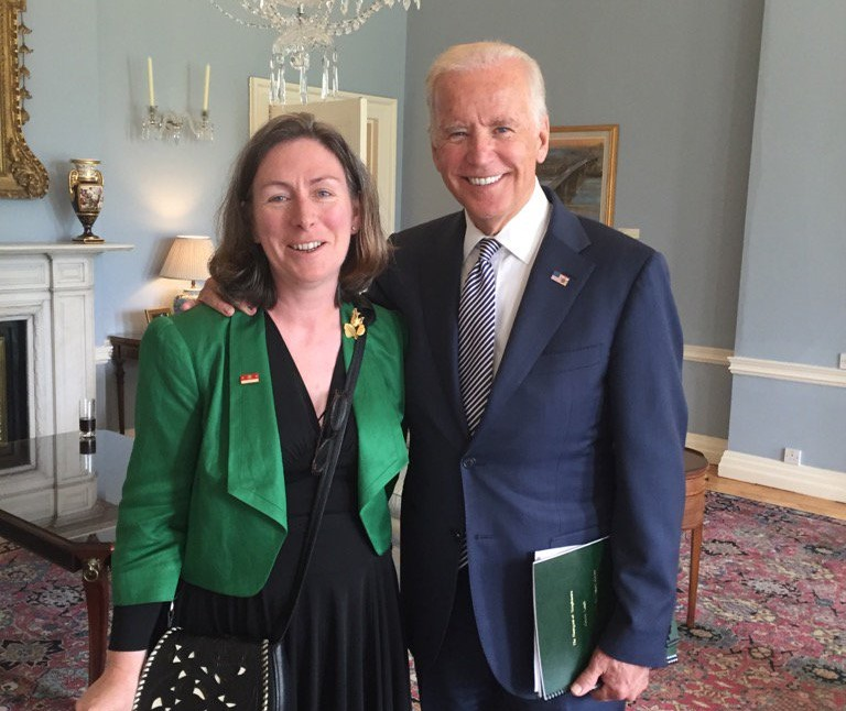 How the IFHC discovered Joe Biden and Rob and Dave Kearney were long-lost cousins