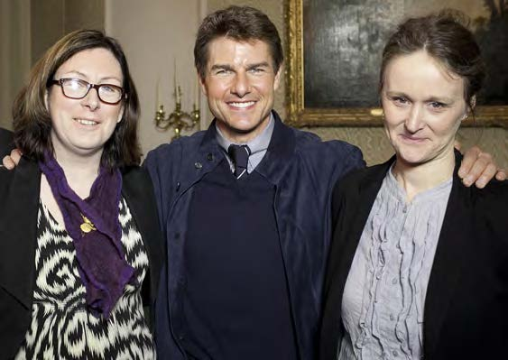Tom Cruise, Baron of Hollywood, hails from north county Dublin